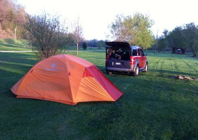 Camping at the Campground